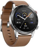 HONOR MagicWatch 2 46 mm Smart Watch, Fitness-Aktivitätstracker mit Herzfrequenz- und Stressmonitor, Übungsmodi, Lauf-App und eingebautem Lautsprecher und Mikrofon, Anthrazit