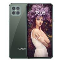 CUBOT Smartphone ohne vertrag C30 Handy, 8GB RAM 256 GB Speicher 48MP AI Quad-Kamera, 6,4 Zoll FHD Punch-Hole Display, 4200mAh Akku, NFC Face ID, Twilight Grün