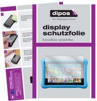2x Amazon Fire HD 10 Kids (2019) Schutzfolie klar Displayschutzfolie Folie