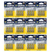 Batterien VARTA 2006, Mignon AA / R06 , Zink-Kohle, Superlife, 1,5V, 12 x 4er Pack