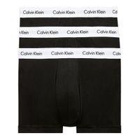 Calvin Klein Low Rise Herren 3er Pack Boxershorts Schwarz, Größe:M