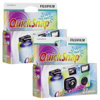 Fujifilm QuickSnap Flash 400 - Einwegkamera - 35mm (Packung von 2 )