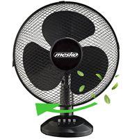 Mesko Tischventilator Ø30 cm 40 Watt | Ventilator | Rotation zuschaltbar | oszillierend | leiser Betrieb | Luftkühler | Windmaschine | geeignet für Büro, Schlafzimmer, Wohnzimmer |
