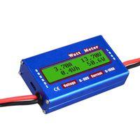 RC Wattmeter 100A Power Analyzer Digital LCD Balance Batteriespannungspruefer
