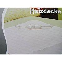 Elektrische Heizdecke 60W 150 x 80 cm / Wärmedecke Heizmatte 2 Stufen Decke