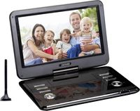 Denver Portable DVD Player MT-1150T2H, Cabrio, Farbe: Schwarz