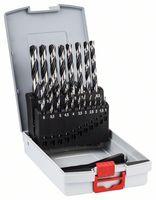 Bosch Metallspiralbohrer-HSS-Set PointTeQ, DIN 338, 19-teilige ProBox - 2608577351