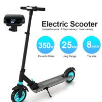 PHAEWO E-Roller Klappbar Erwachsene E-Scooter Motor 350W LCD-Bildschirm 8 Zoll Elektroroller