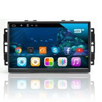 "9"" Touchscreen Android Autoradio GPS NAVI für CHRYSLER 300C SRT8 ASPEN Dodge"
