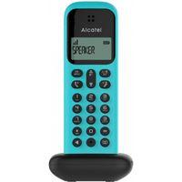 ALCATEL Festnetztelefon D285 SOLO Turquoise Wireless Dect Solo verstärktes Hören