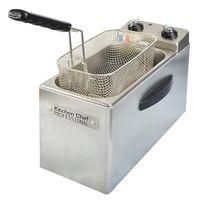 RFN4 - 4 L-1,2 kg Pommes-2500 W-TH-All Rostfrei-Kaltzone-Vollständig abnehmbar