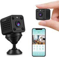 Mini Überwachungskamera WLAN Super Infrarot Nachtsichtkamera Drahtlose WIFI-Kamera Weitwinkel-HD-Nachtsicht