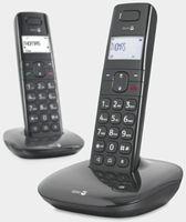 Doro Comfort 1010 DUO Strahlungsarmes Schnurlostelefon, Rufnummernanzeige, Freisprechfunktion, DECT