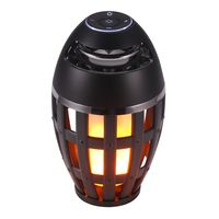 USB Led Flame Lights Bluetooth Lautsprecher Outdoor Tragbare Led Flame Atmosphäre Lampe Stereo Lautsprecher Outdoor Camping Woofer