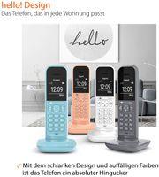Gigaset CL390A - Analoges/DECT-Telefon - Kabelloses Mobilteil - Freisprecheinrichtung - 150 Eintragu Gigaset