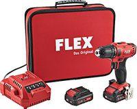 Flex Akkuschrauber Set DD2G10.8-LD inkl. 2 Akkus (450.561)