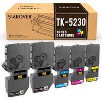 XXL Kompatibel Toner TK-5230 für Kyocera Ecosys P5021cdw P5021cdn M5521cdw M5521cdn Drucker, 5er Pack