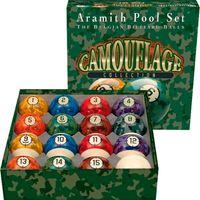 Aramith Pool Bälle Set Tarnung 57,2mm