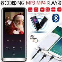 16GB Bluetooth MP3 Player OTG Touch Musikspieler MP4 FM Radio E-Book Recorder Sport/Laufen/Reisen/Camping/Klettern/Radfahren/Yoga