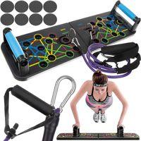 Liegestütze Brett Liegestützgriffe Faltbare Fitnessübungen Trainingssystem 14200
