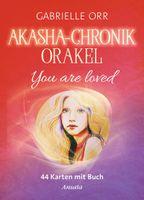 Akasha-Chronik-Orakel, 44 Karten mit Buch