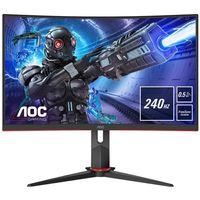 AOC C27G2ZE/BK Gaming-Monitor FHD/Curved/HDMI/DP/VA-Panel/240Hz/FreeSync/0,5ms