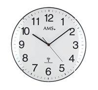 AMS Funk-Wanduhr, Funkwerk, D32x5cm, 5960