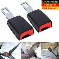 2pcs Auto Sicherheit Sitzgurt Extender Verlängerung Schnalle Adjustable Lock Clip
