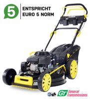 Craftfull Premium Benzin-Rasenmäher CR-224-20, 5in1 224cc Motor 5,2 Kw, GT-Markengetriebe, Euro5