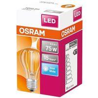 OSRAM LED STAR CLASSIC A 60 BOX Kaltweiß Filament Klar E27 Glühlampe