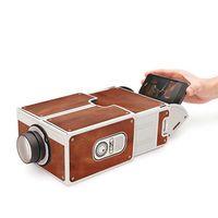 Mini Smartphone Projektor Kino Tragbare Heimgebrauch DIY Karton Projektor Familie Unterhaltung Projektive Gerät