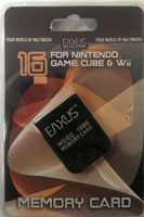 Eaxus Memory Card Nintendo WII & Game Cube