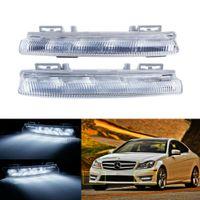 1 paar LED Tagfahrlicht Nebelscheinwerfer Für Mercedes E C W204 S204 W212 S212 C207