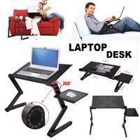 Laptop Tisch Ständer Höhenverstellbar Notebooktisch 360 ° Faltbarer Laptoptisch