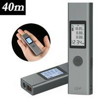XIAOMI DUKA Laser-Entfernungsmesser USB Aufladbar Laser Digital Distanzmessgerät Messbereich 40m mit LCD Hintergrundbeleuchtung 200mAh Li-Po Akku