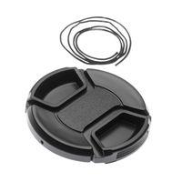 vhbw Objektivdeckel Objektiv Deckel Schutzdeckel Lens Cap 55mm kompatibel mit Canon, Nikon, Panasonic, Sony, Olympus, Samsung usw.