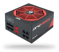 Chieftec PowerPlay - 750 W - 100 - 240 V - 47 - 63 Hz - 10 A - Aktiv - 120 W
