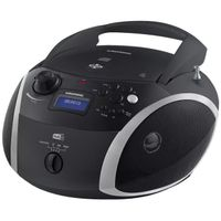 Grundig GRB 4000 BT DAB+ Tragbare Radio Boombox mit Bluetooth CD-Player MP3