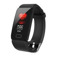 Q1 Smart Armband 1.14 Zoll Farbdisplay Sport Armband Smartband BT 4.0 Fitness Tracker IP67 Wasserdichtes Smart Armband fuer IOS / Android Smartphones