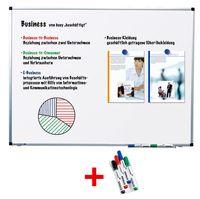 LEGAMASTER AKTION Whiteboard PREMIUM 120.0 x 90.0 cm spezialbeschichteter Stahl+