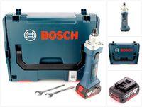 Bosch GGS 18 V-LI Akku Geradschleifer 18V + 1x Akku 5,0Ah + L-Boxx - ohne Ladegerät