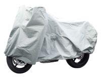 Lifetime Wheels Abdeckplane Motorrad, Roller, Moped, Fahrrad oder Mobilitätsroller - XL - Wasserabweisend - Grau