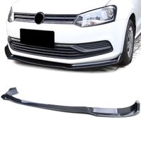 CUP Frontspoiler Lippe Carbon Look für VW Polo V 6R 09-14