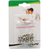 InLine® Schraubenset, für Laufwerke, 50-teilig