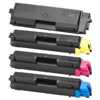 4 Merotoner XL Toner Kompatibel zu Kyocera Ecosys P6021cdn FS-C5150dn TK580 - Schwarz 4.000 Seiten, Color je 3.000 Seiten