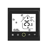 MOES Smart Thermostat Intellight Temperaturregler 5A Wasser Fußbodenheizung für zu Hause Wi-Fi - Schwarz