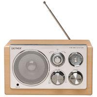 Denver TR-61 holzhell Design-Radio U/M AUX-IN