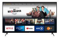 homeX UA65FT5505 Fire TV - 65 Zoll Fernseher (4K UHD, HDR, Alexa Sprachsteuerung, Triple-Tuner)