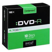 Intenso DVD-R 4.7GB, 16x, 4.7 GB, DVD-R, 120 min, slimcase
