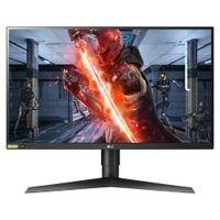 LG UltraGear 27GL850-B 68,6 cm (27 Zoll) WQHD LED Gaming-LCD-Monitor - 16:9 Format - 685,80 mm Class - Nano-In-Plane-Switching-Technik (Nano-IPS) - 2560 x 1440 Pixel Bildschirmauflösung - 1,07 Milliar